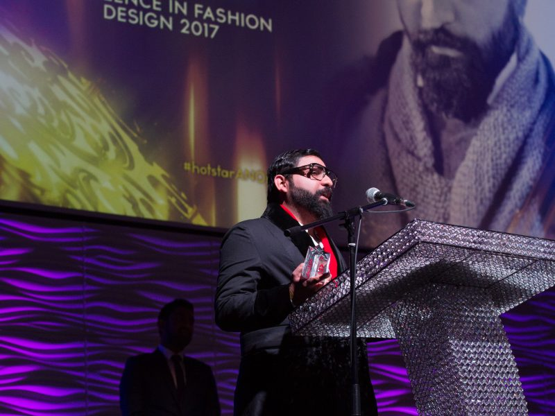 Ali Xeeshan Wins Excellence In Fashion Design 2017 Award