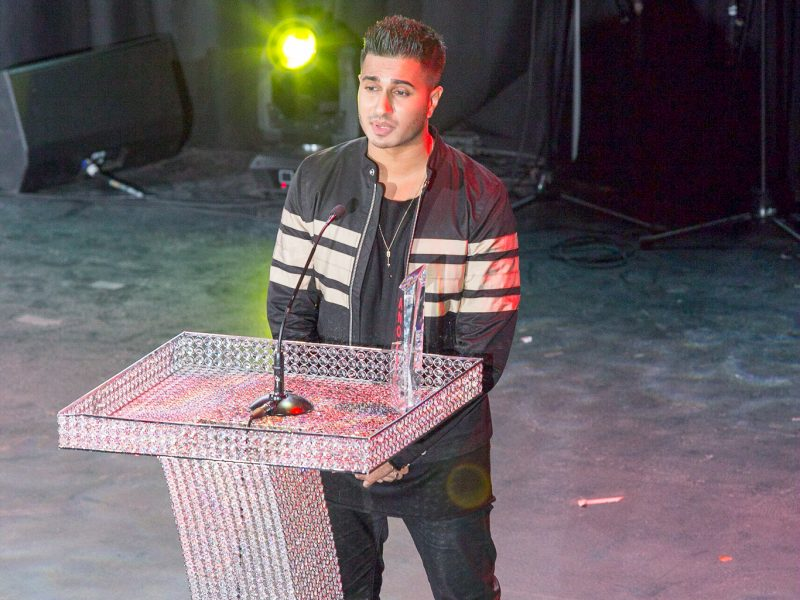 Arjun Wins Musical Artist Of The Year 2016 Award