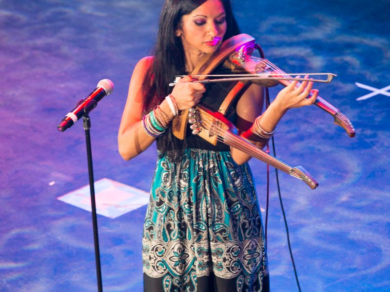 Award Winning Composer & Instrulementalist Gingger Shankar Performs