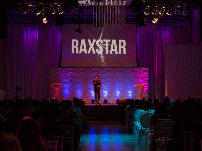 Award Winning Rap Artist Raxstar Peforms