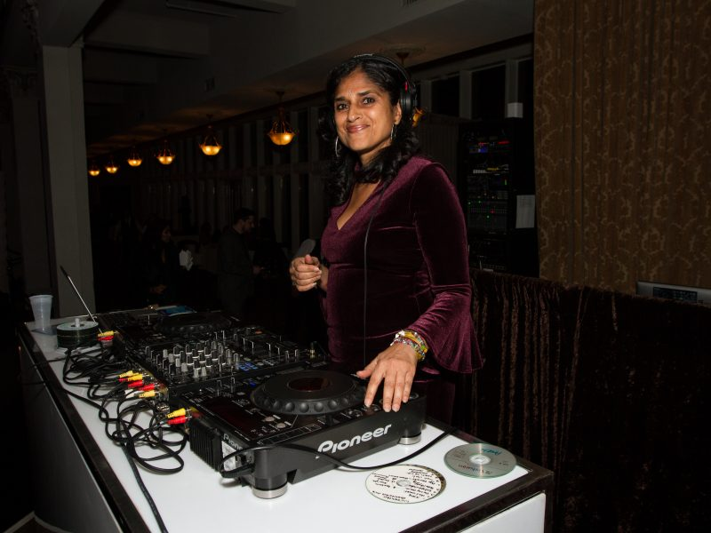 DJ Amita Spinning During After-Party