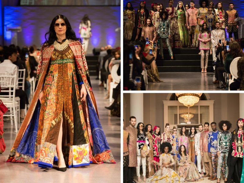 First Canadian Fashion Showcase By Designer Ali Xeeshan