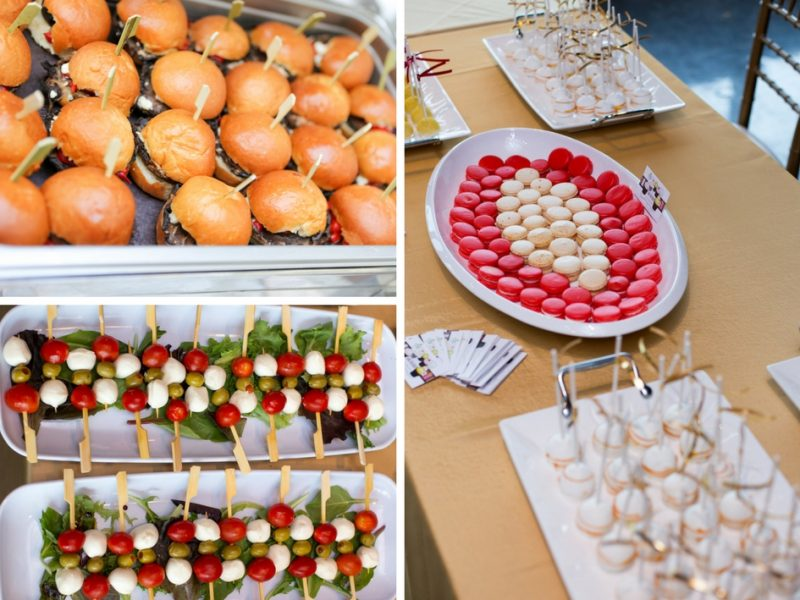 Guests Enjoyed Delicious Snacks During Media Reception
