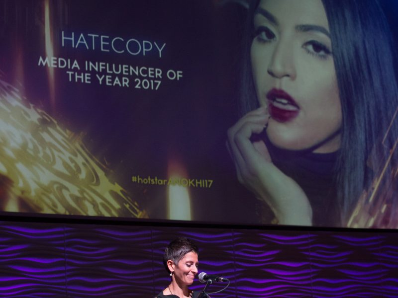 Hatecopy Wins Media Influencer Of The Year Award 2017