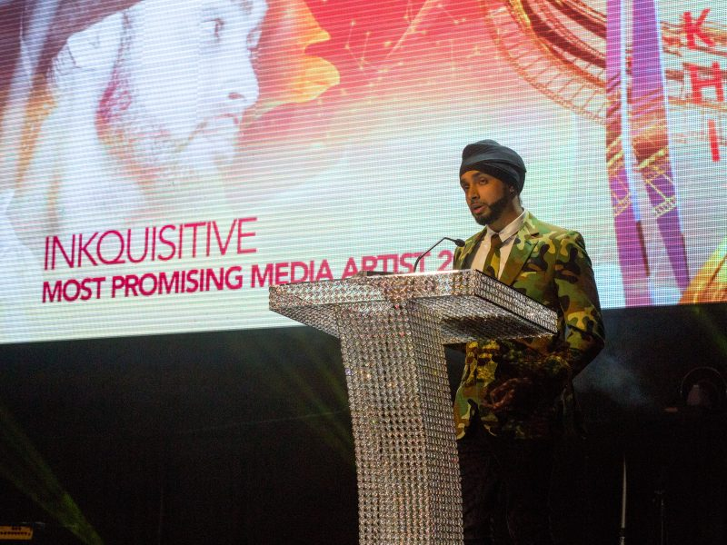 Inkquisitive Wins Most Promising Media Artist 2016 Award