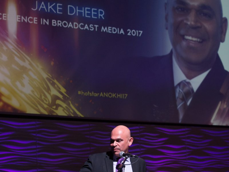 Jake Dheer Wins Excellence In Broadcast Media Award 2017