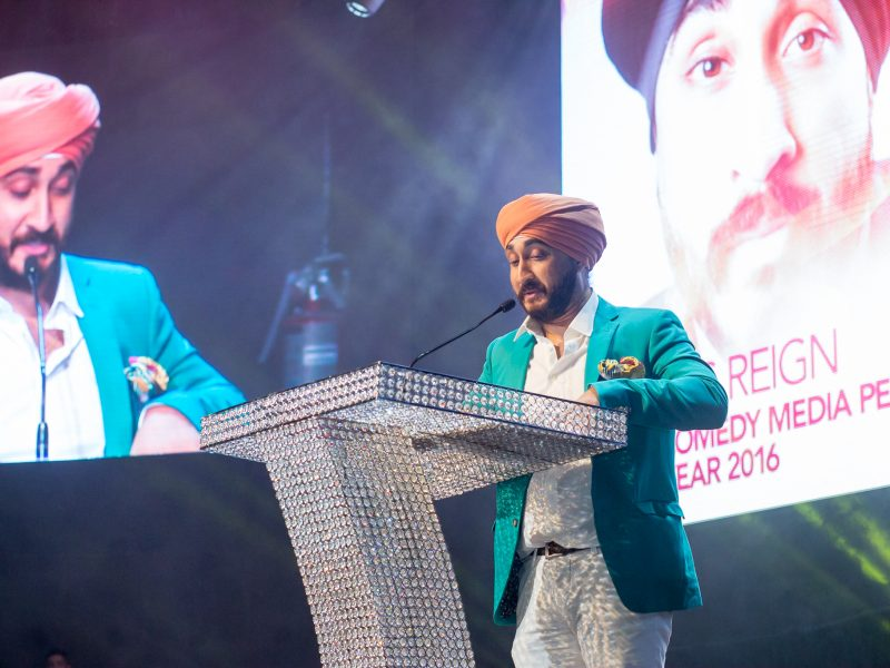 Jus Reign Wins Comedy Media Personality Of The Year 2016 Award