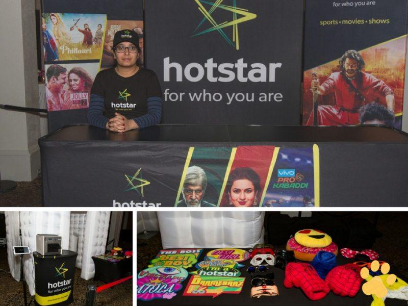 Presenting Sponsor HOTSTAR's Booth