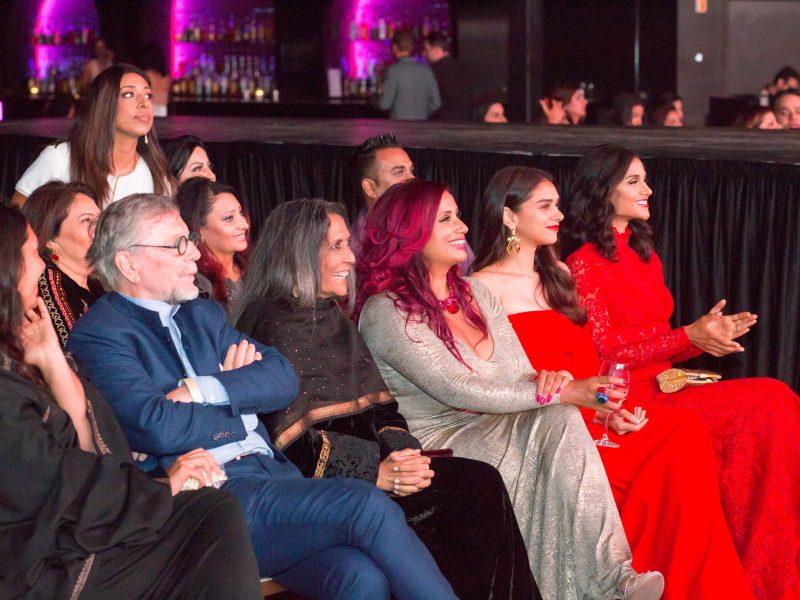 Raj Girn With Deepa Mehta, Aditi Rao Hydari & Melanie Chandra