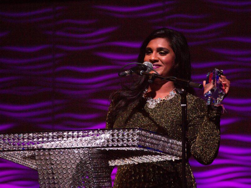 Roveena Wins Female Musical Artist Of The Year 2017 Award