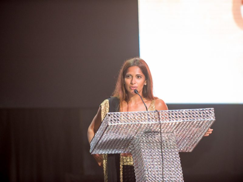 Sangita Patel Hosts The Glamour Awards