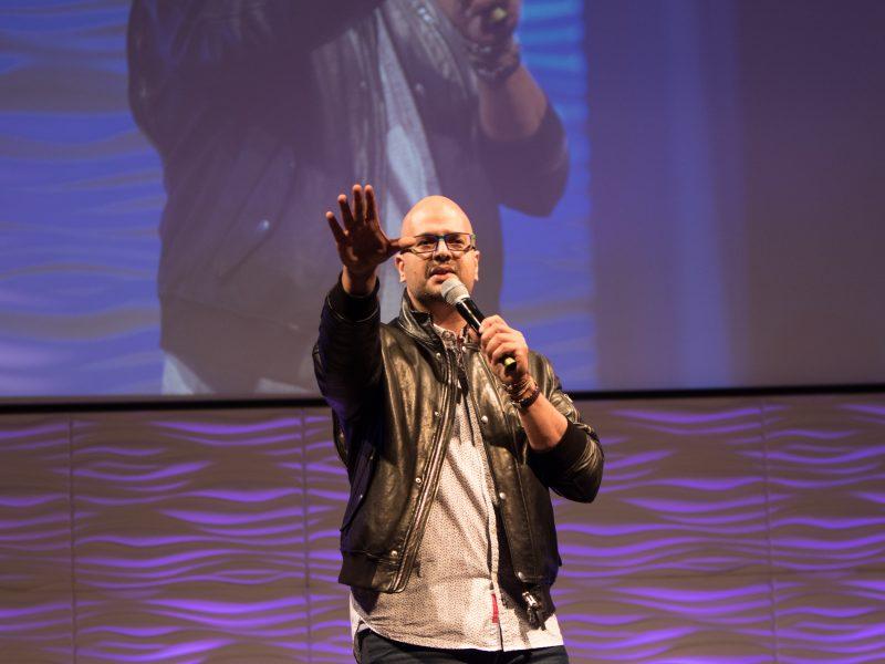 Show Host Ali Hassan