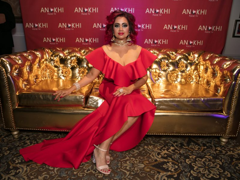 The Famous ANOKHI PULSE TV Gold Couch